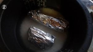 炊飯器で離乳食作り②
