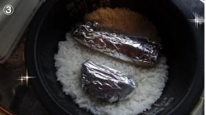 炊飯器で離乳食作り③