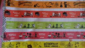 ムーミンのデコレーションテープ5種類