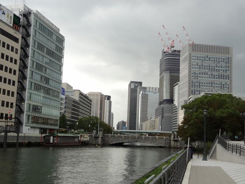 2011年10月の淀屋橋周辺の写真