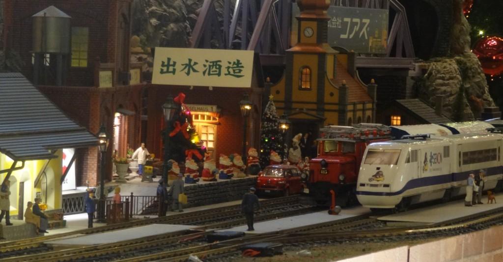 大規模なジオラマと鉄道模型(5)
