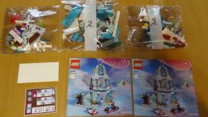 「レゴ ディズニー・プリンセス エルサのアイスキャッスル」(3)内容
