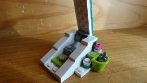 そりの滑り台のできあがり(2)