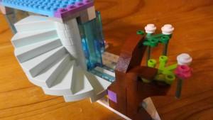 エルサのお城の下段のできあがり(2)