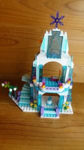 エルサのお城の完成(1)