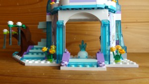 エルサのお城の完成(2)
