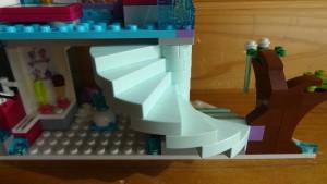 エルサ&お城のらせん階段(実際の写真)(2)