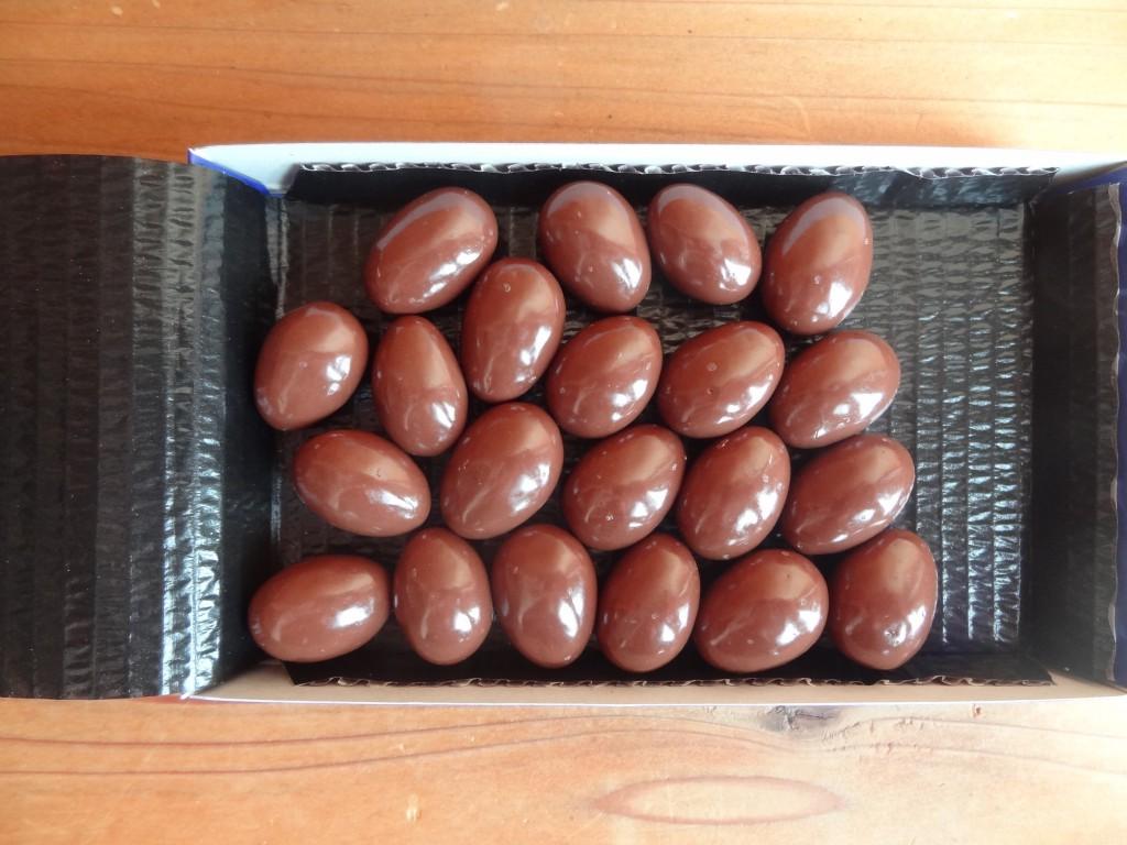 ロッテの「乳酸菌ショコラアーモンドチョコレート」(6)