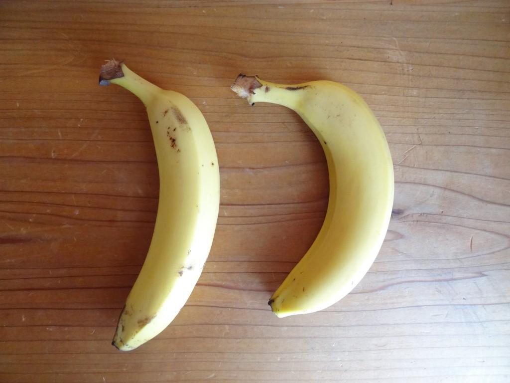 便の量:バナナ2本分