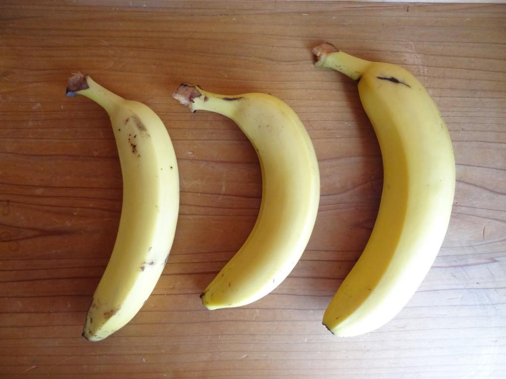 便の量:バナナ3本分