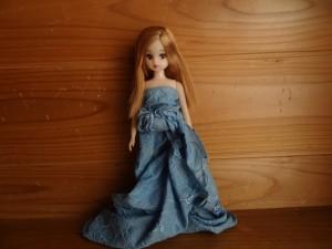 「ハンカチまきまきドレス」(2)