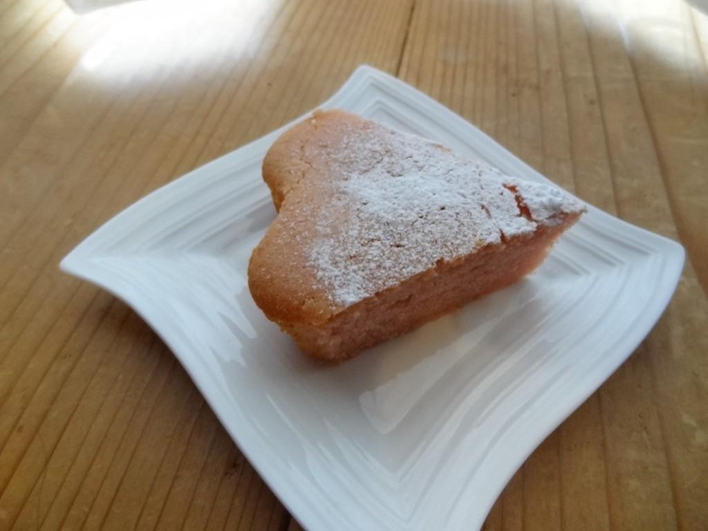 ハート形のいちごのガトーショコラ(2)