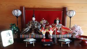 我が家のひな人形(1)