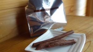 芋屋金治郎の「チョコがけけんぴ ミルクチョコ」(5)