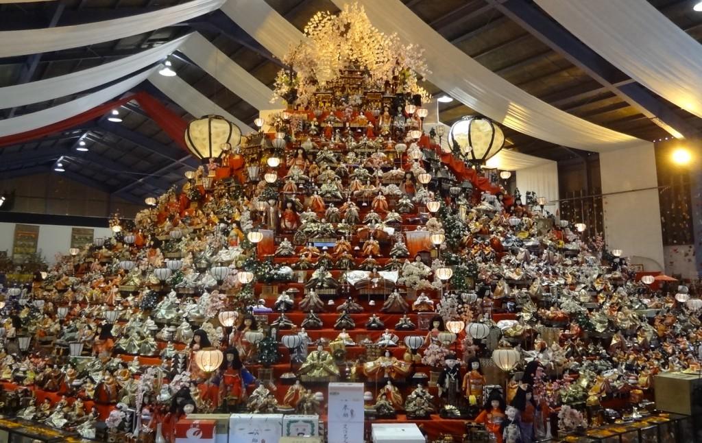 「第28回元祖ビッグひな祭り」の会場写真(4)