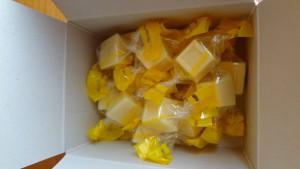 勝浦みかん果汁入りチョコレート(4)