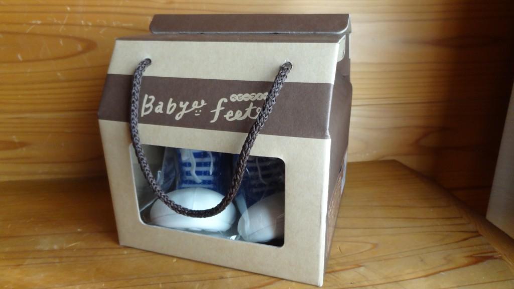 Baby feet「ベビーフィート」スニーカーズブルー(1)