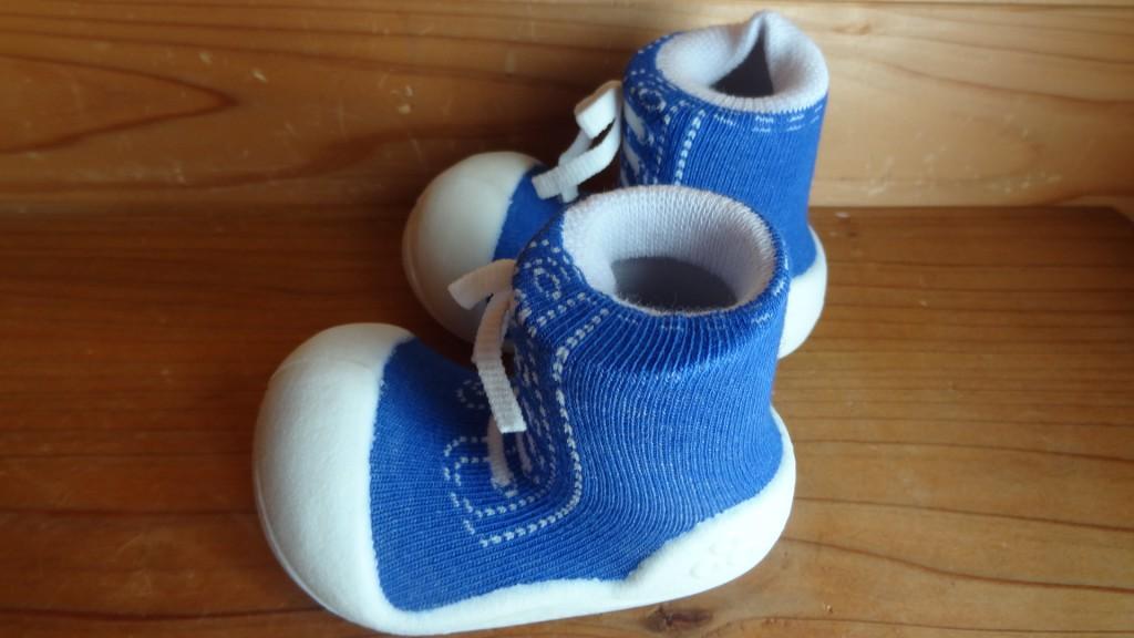 Baby feet「ベビーフィート」スニーカーズブルー(5)