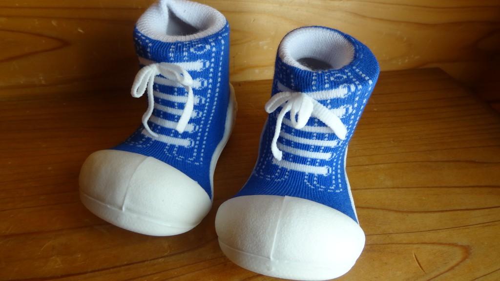 Baby feet「ベビーフィート」スニーカーズブルー(4)