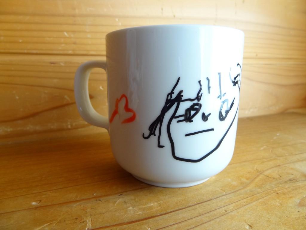 焼き付ける前のマグカップ(1)