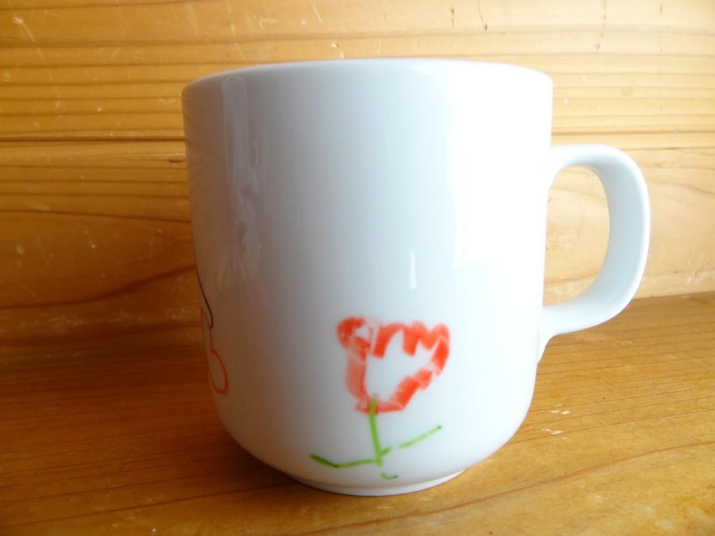 焼き付ける前のマグカップ(2)