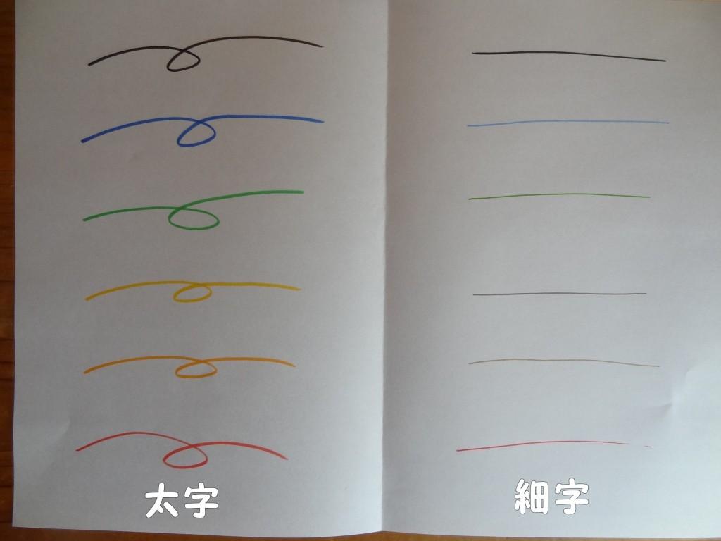 無印良品の「おえかきペン・陶磁器用」(7)