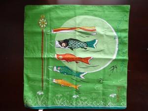鯉のぼりの風呂敷(1)