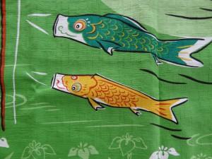 鯉のぼりの風呂敷(3)