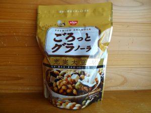 日清シスコの「ごろっとグラノーラ充実大豆」(1)