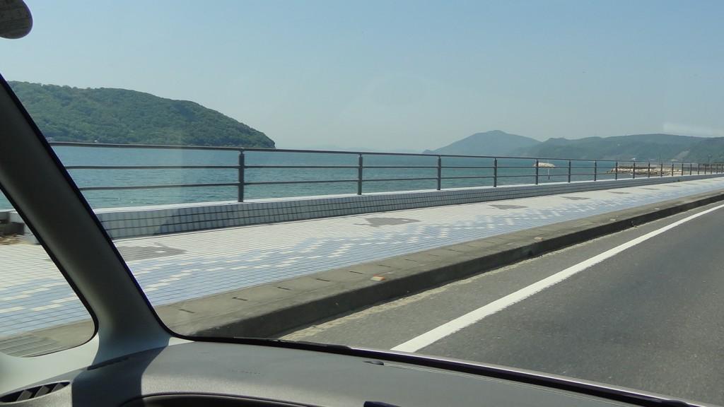 小豆島をドライブ