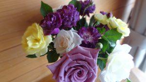 我が家の切り花のバラ(2)