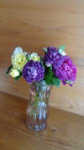 我が家の切り花のバラ(1)