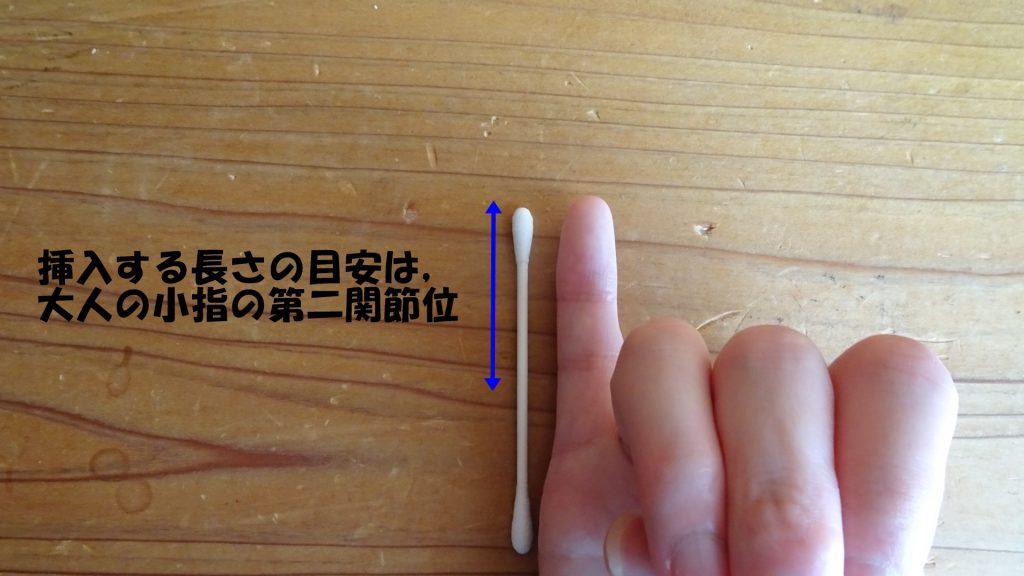 綿棒刺激(2)