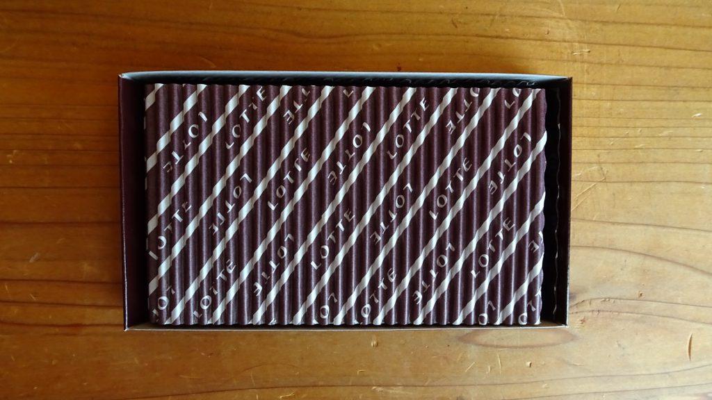 ロッテの「乳酸菌ショコラアーモンドチョコレート ビター」(5)