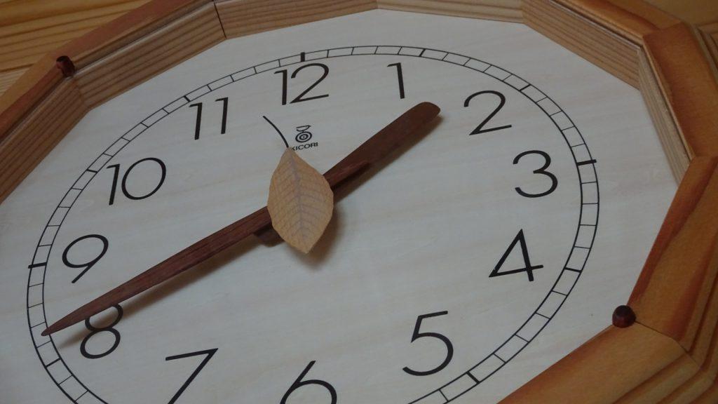 「森の電葉時計」(3)