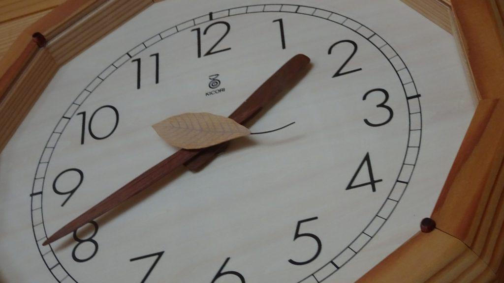 「森の電葉時計」(4)