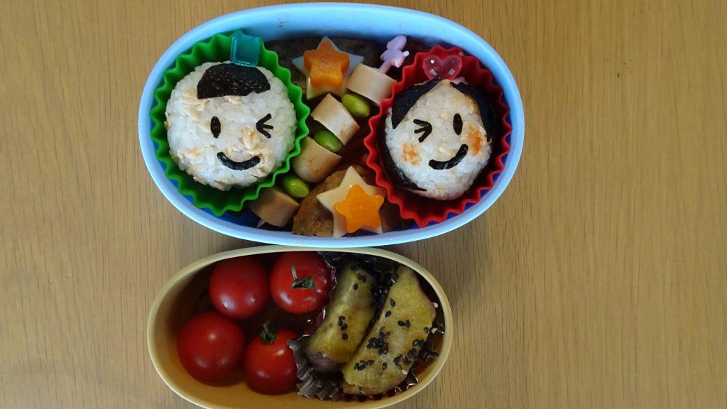 私が作った七夕のお弁当(1)