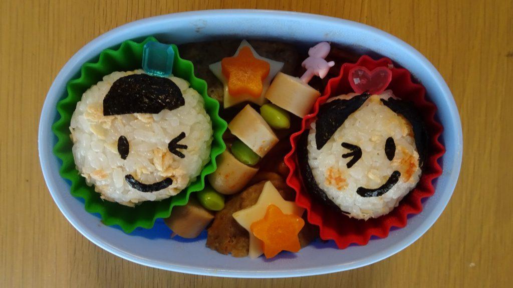 私が作った七夕のお弁当(2)