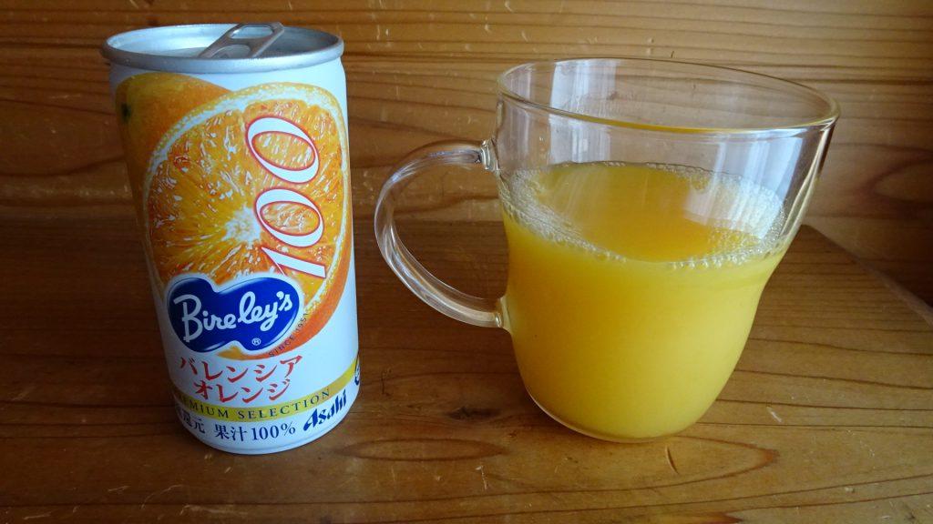 みらいのこうそ+100%オレンジジュース(1)