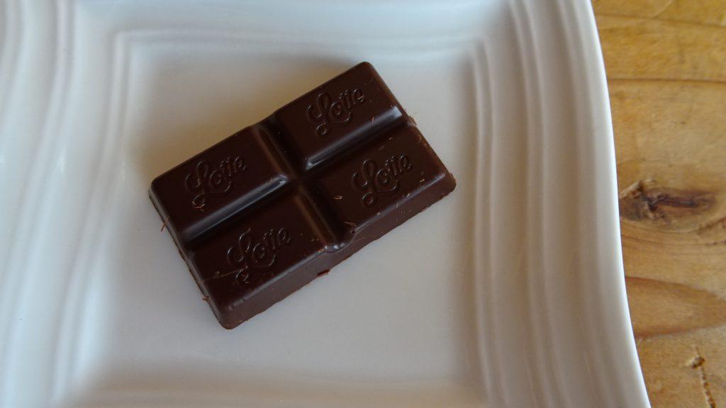 ロッテの「乳酸菌ショコラ ビターチョコレート」(5)