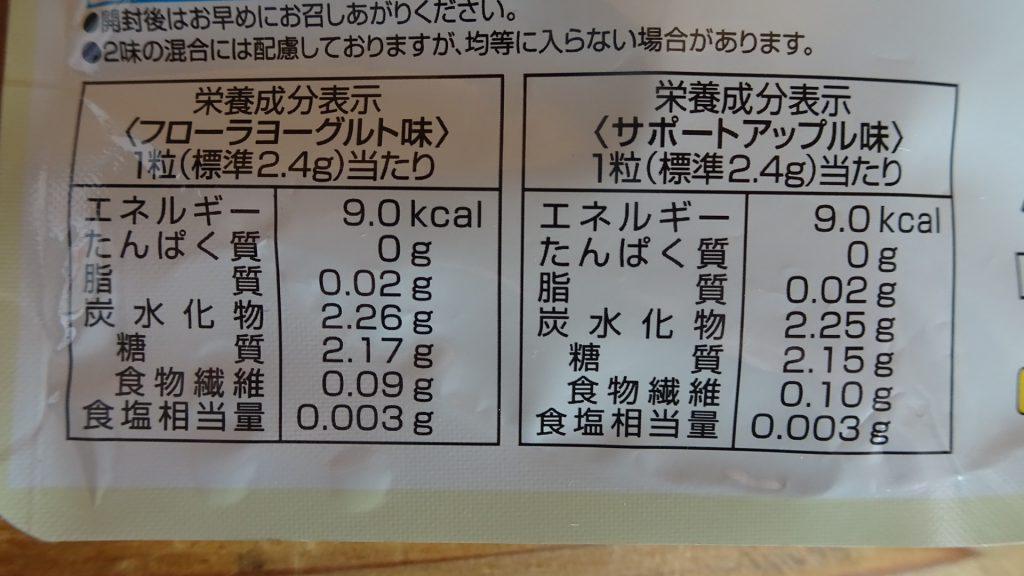 カバヤ食品の「菌活生活タブレッツ」(4)