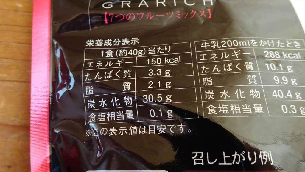 あじげんの「グラリッチ 7つのフルーツミックス」(3)