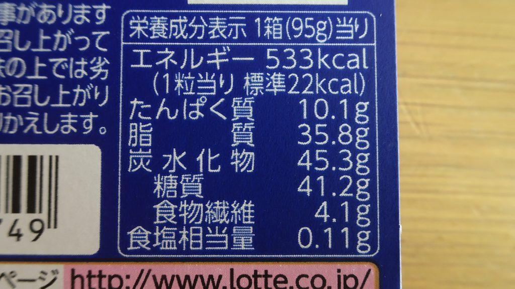ロッテの「乳酸菌ショコラ アーモンドチョコレート」の新しいパッケージ(7)